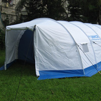 NGO Tents Banner