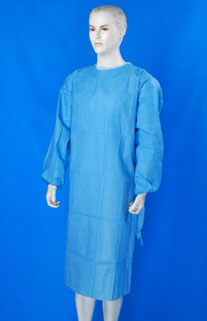 Disposable Protective surgeon suit 01