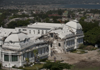 Seisme Haiti phase de déconstruction, aide a la reconstruction